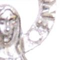 クロスチャーム付マリア様ペンダント 4月(ダイヤモンド)